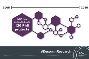 NDA has co-funded over 120 PhD projects since 2005