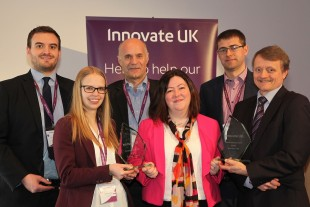 Award winners at Collaboration Nation 2016