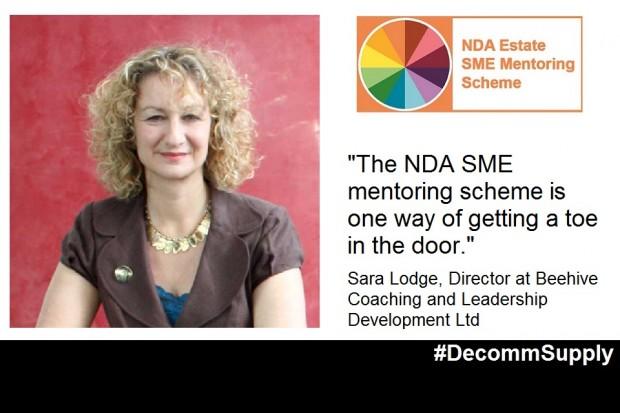 Previous mentee, Sara Lodge, recommends the NDA Estate SME Mentoring Scheme