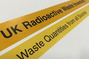 UK Radioactive Waste Inventory: waste quantities from all sources