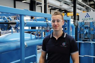 Civil engineer Jack Hardy spent eight months with the NDA as part of the nucleargraduates training scheme and now works for Nuclear Advanced Manufacturing Research Centre (NAMRC).
