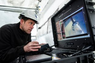 Driving the Remotely Operated Vehicle (ROV)