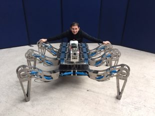 Latro robotic spider (Photo courtesy of Forth Engineering)