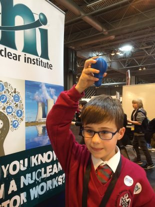 "A ""light bulb moment"" at Nuclear Institute stand at Big Bang Fair"