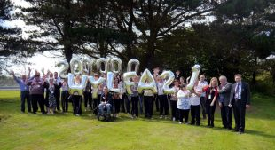 Charities from across Anglesey and North Wales attended a celebration to celebrate 24 years of dedicated fundraising support from the staff at Wylfa power station.