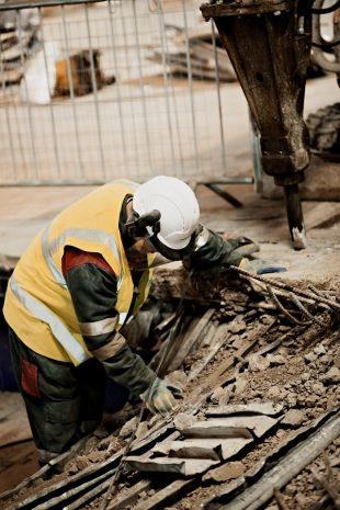 Decommissioning work on Sellafield site