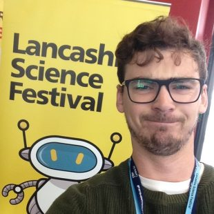 Phil Quayle, nucleargraduate, at Lancashire Science Festival 2016