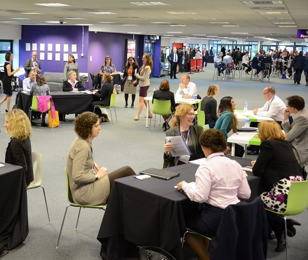 Women in Nuclear speed mentoring at Supply Chain Event 2015