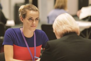 Steph Flynn, on nucleargraduates programme, joins speed mentoring for Women in Nuclear
