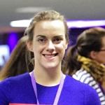 Stephanie Flynn, nucleargraduate at NDA