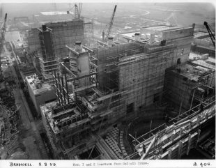 Construction of Bradwell reactors