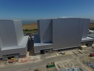 Completed project to clad Bradwell reactors with weather-proofing