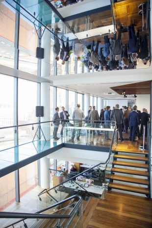 Briefing event for Integrated Innovation competition at Digital Catapult Centre, London