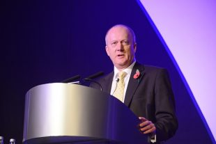 John Clarke, NDA CEO, speaking at the Supply Chain Event 2016