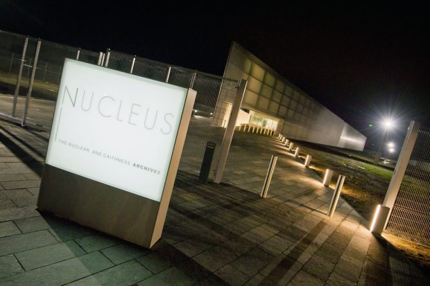 Entrance to Nucleus archive