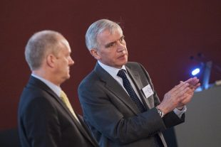 John Clarke, NDA CEO, and Stephen Henwood CBE