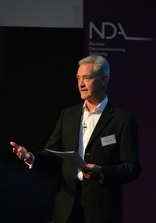 David Peattie, NDA Chief Executive Officer