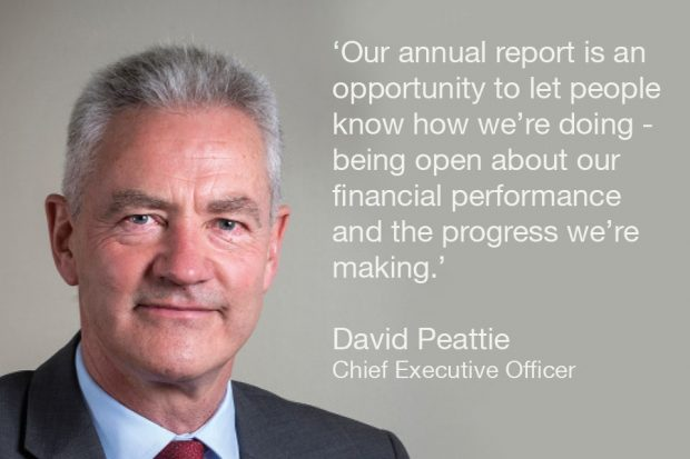 David Peattie, NDA CEO