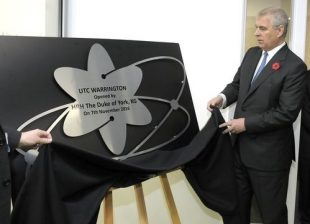HRH Duke of York opens Warrington UTC in November 2016