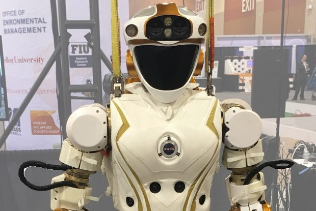 NASA's Valkyrie robot is currently being trialled