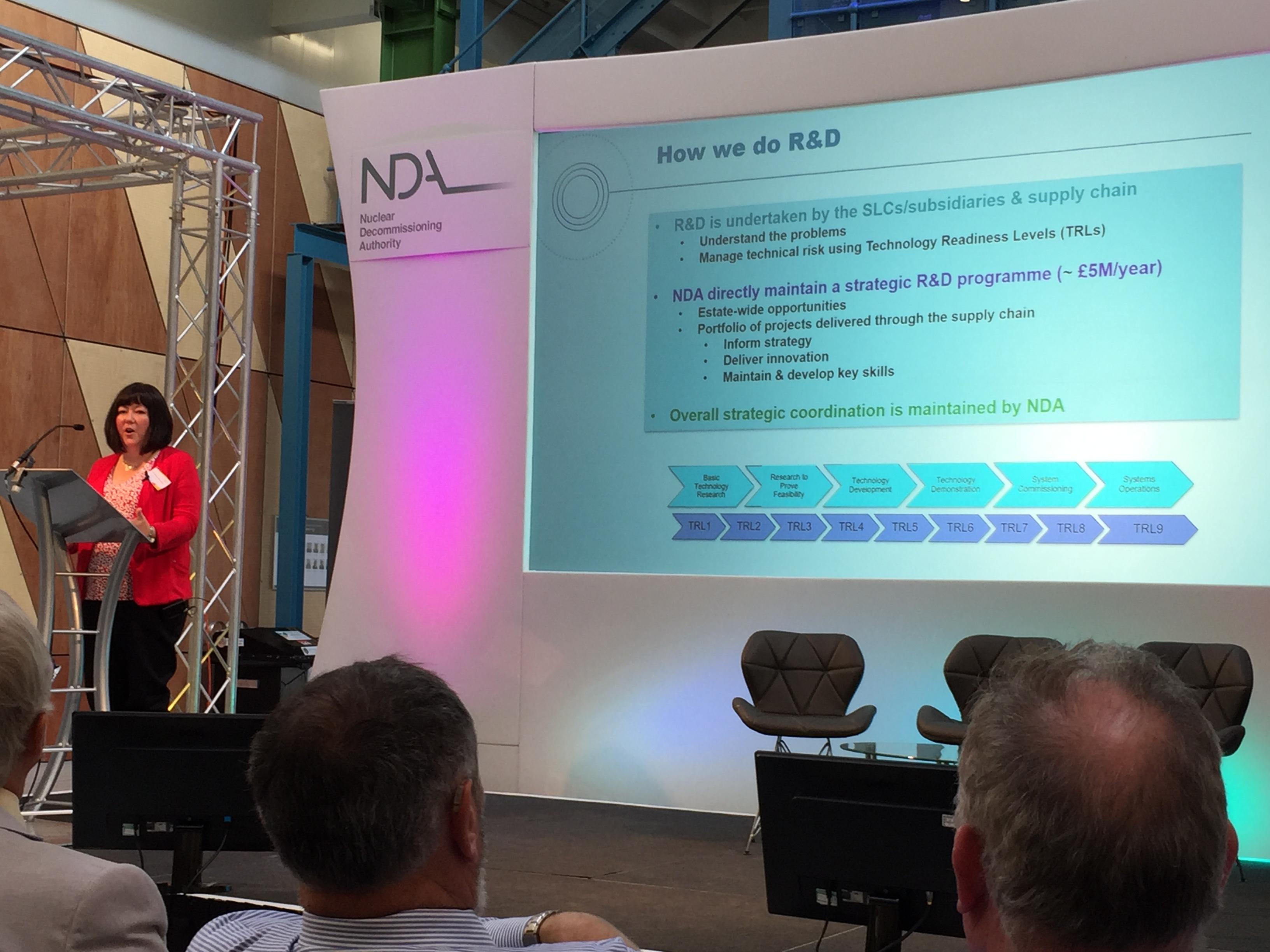 Melanie speaking at the recent NDA Stakeholder Summit