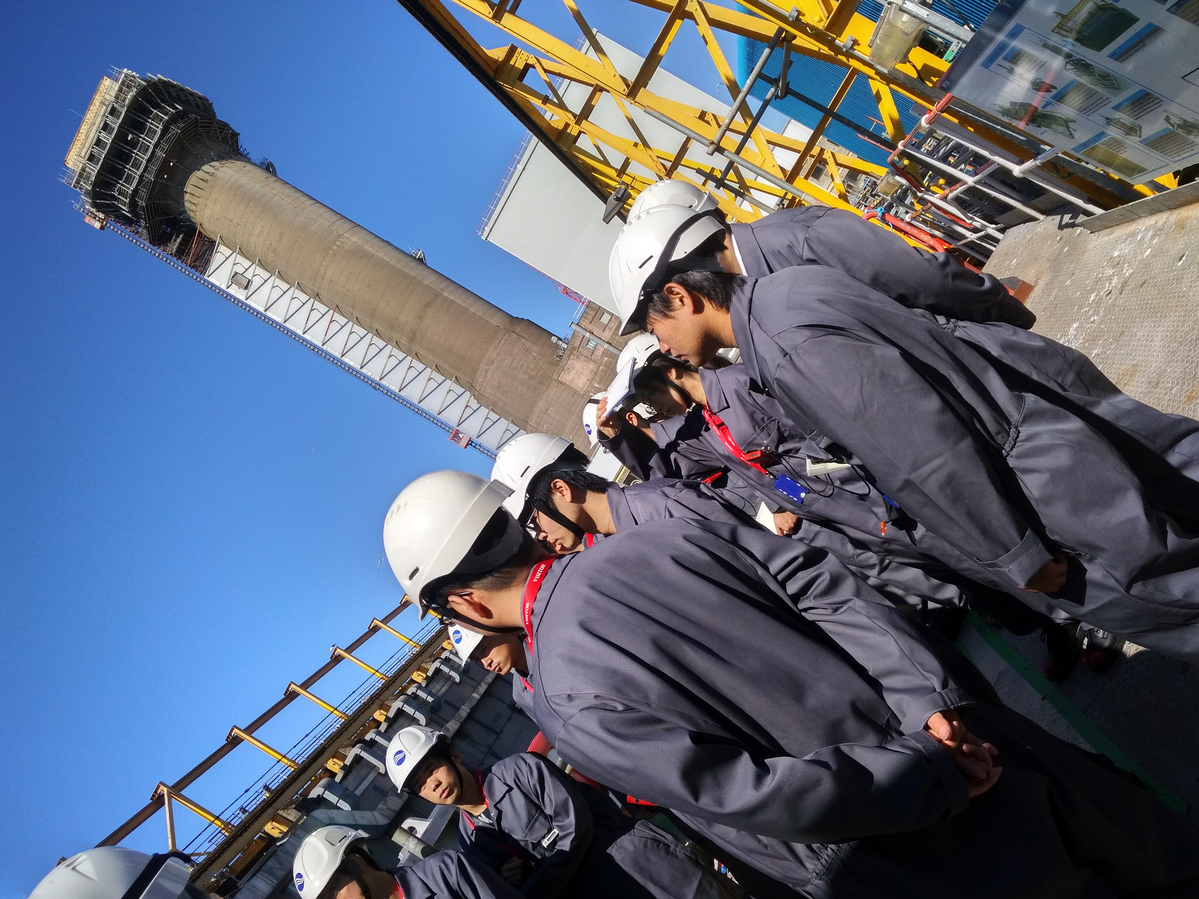 Tokyo University students visit one of Sellafield's legacy facilities
