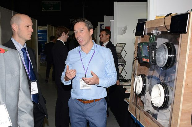Joe Orrell in the Innovation Zone at NDA Group Supply Chain Event