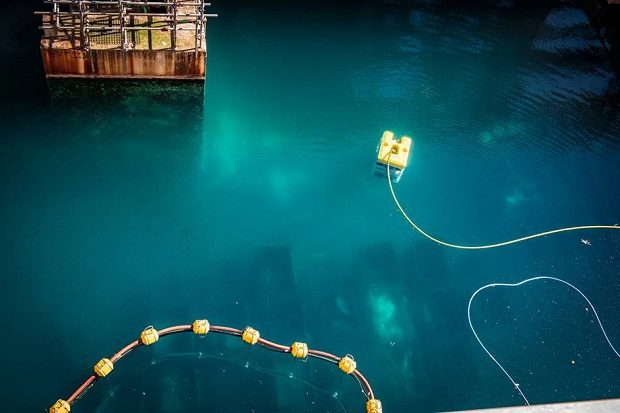 Remotely Operated Vehicle (ROV) in First Generation Magnox Storage Pond (FGMSP)