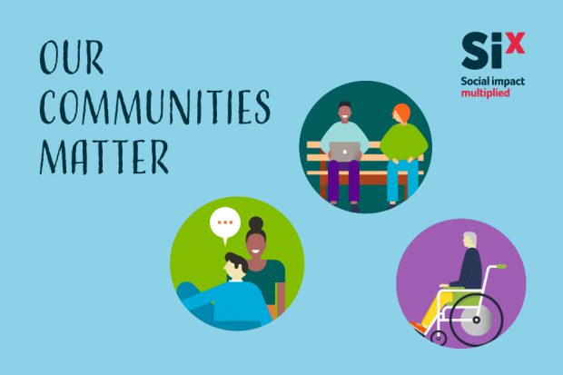 Our communities matter illustration